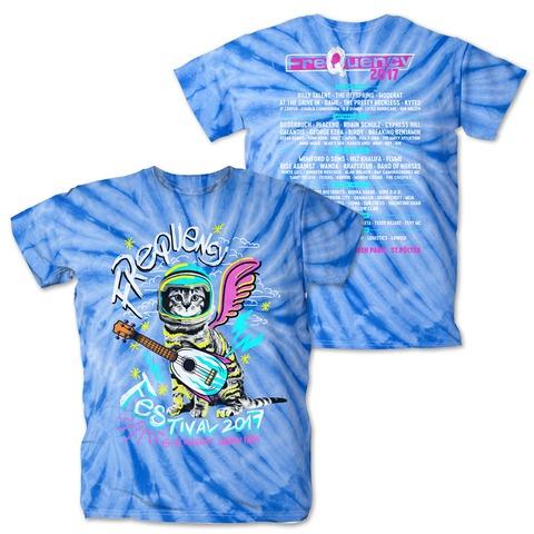 Guitar Cat von Frequency Festival - T-Shirt jetzt im My Festival Shop Shop
