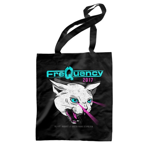 Laser Cat von Frequency Festival - Record Bag jetzt im My Festival Shop Shop