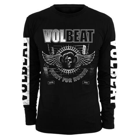 Fight For Honor von Volbeat - Longsleeve jetzt im Bravado Shop