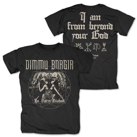 In Sorte Diaboli Anniversary von Dimmu Borgir - T-Shirt jetzt im Bravado Shop