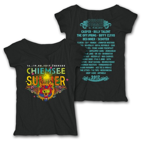 Party Lion von Chiemsee Summer - Girlie Shirt jetzt im My Festival Shop Shop