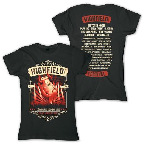 Stagediver von Highfield Festival - Girlie Shirt jetzt im My Festival Shop Shop