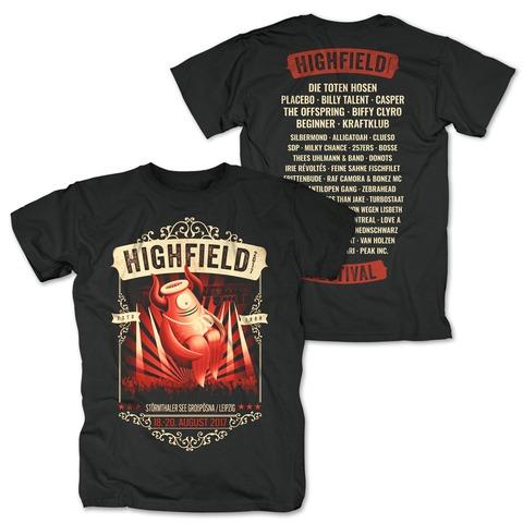 Stagediver von Highfield Festival - T-Shirt jetzt im My Festival Shop Shop
