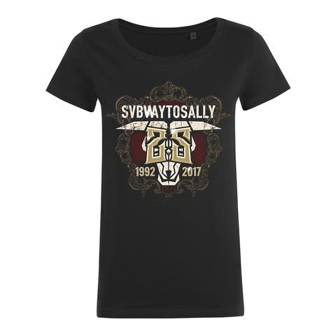 25 Years von Subway To Sally - Girlie Shirt jetzt im Bravado Shop