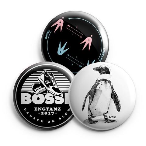 Engtanz von Bosse - 3er Button Set jetzt im Bravado Shop