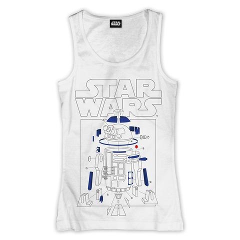 R2-D2 Components von Star Wars - Girlie Tank Shirt jetzt im Bravado Shop
