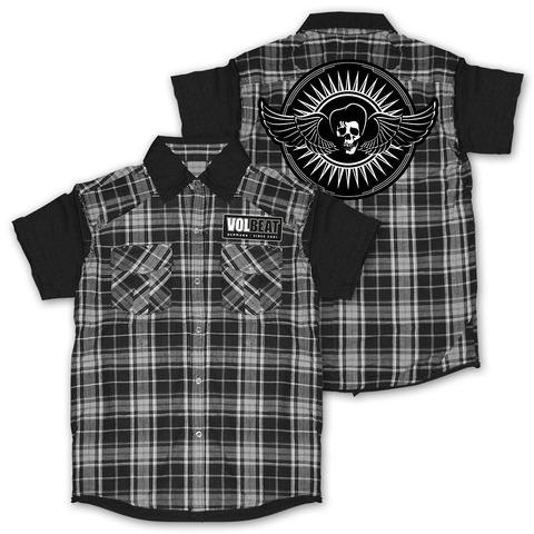 Skullwing Circle von Volbeat - Worker Shirt jetzt im Bravado Shop