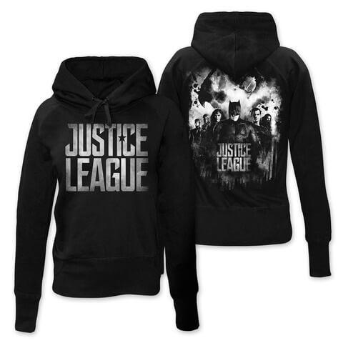 Splatter Squad von Justice League - Girlie Kapuzenpullover jetzt im Bravado Shop
