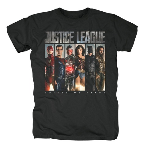 Photo Slices von Justice League - T-Shirt jetzt im Bravado Shop