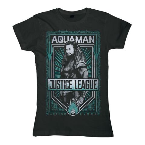 Aquaman von Justice League - Girlie Shirt jetzt im Bravado Shop