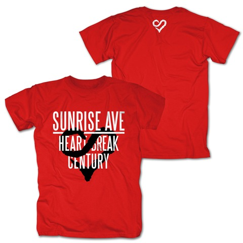 √Heartbreak Century Logo von Sunrise Avenue - T-Shirt jetzt im Sunrise Avenue Shop