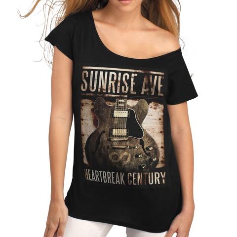 √Century Guitar von Sunrise Avenue - Girlie Shirt jetzt im Sunrise Avenue Shop