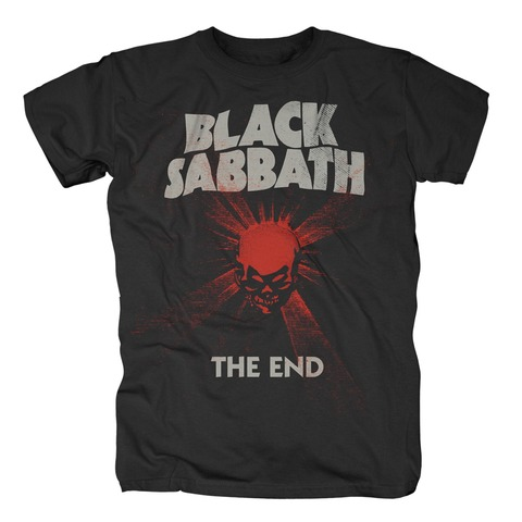 The End Mushroom Cloud von Black Sabbath - T-Shirt jetzt im Black Sabbath Shop