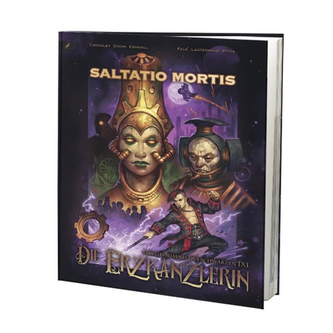 Das Geheimnis des schwarzen IXI - Die Erzkanzlerin von Saltatio Mortis - Buch jetzt im Saltatio Mortis Shop